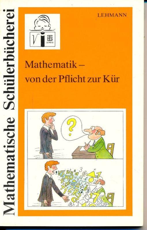 """shop.ddrbuch.de DDR-Buch, Prüfungs- und Übungsaufgaben, Knobeleien und Lösungshinweise, farbig gestaltet sowie zahlreiche Abbildungen, aus der Reihe """"Mathematische Schülerbücherei"""""""