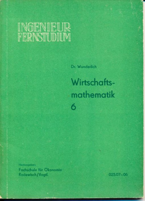 shop.ddrbuch.de DDR-Ingenieurfernstudium, Lehrwerk für das Studium, Inhalt: Netzwerkplanung mit 13 Kapitel und einer Beilage, zahlreiche Abbildungen