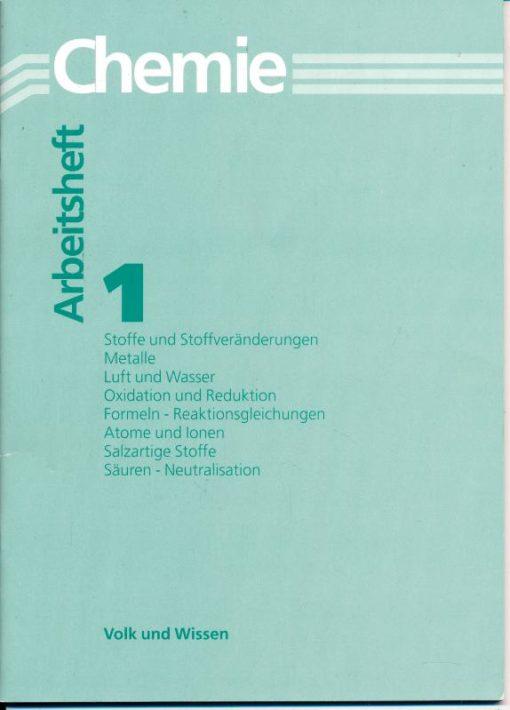 shop.ddrbuch.de Auch für Lehrer zur Gestaltung der Unterrichtsstunden, 65 Aufgaben mit Feldern und Tabellen für Eintragungen, mit zahlreichen Abbildungen, Stoffe und Stoffveränderungen, Metalle, Luft und Wasser, Oxidation und Reduktion, Formeln - Reaktionsgleichungen, At