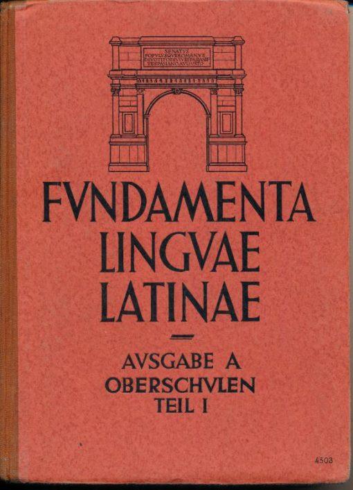 shop.ddrbuch.de Lateinisches Lehr- und Lesebuch für die dritte Klasse der Oberschule, Ausgabe A, mit 15 Abbildungen auf Kunstdrucktafeln und 3 Karten, davon eine farbig