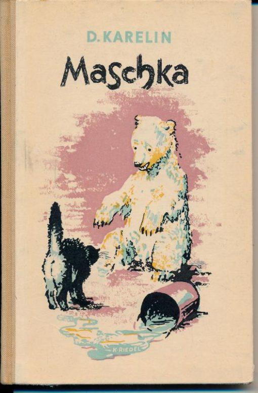 shop.ddrbuch.de DDR-Buch, Geschichte einer weißen Bärin, mit schwarzen zarten Zeichnungen illustriert
