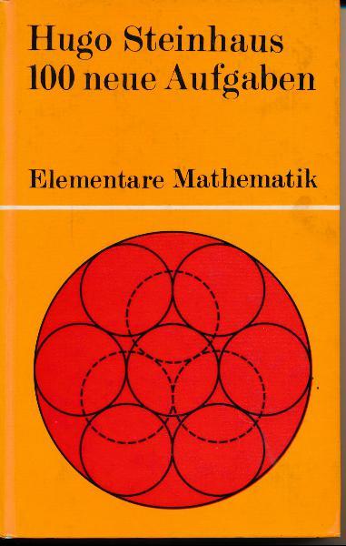 shop.ddrbuch.de DDR-Buch; Hundert Probleme aus der elementaren Mathematik; mit zahlreichen Abbildungen; Das Buch zeigt die Elementarmathematik von einer interessanten Seite und versucht zugleich, die Kluft zur höheren Mathematik zu überwinden. Ein weiteres Ziel des Autor