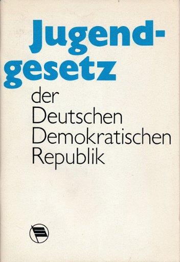 Jugendgesetz der DDR