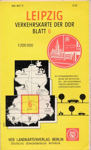 Leipzig Verkehrskarte