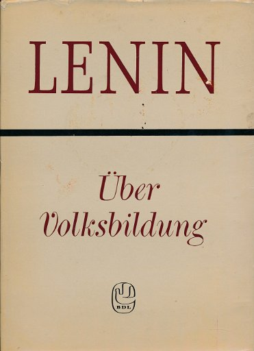 Lenin – Über Volksbildung