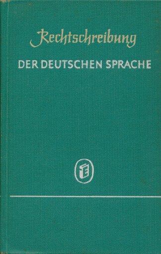 Rechtschreibung der deutschen Sprache