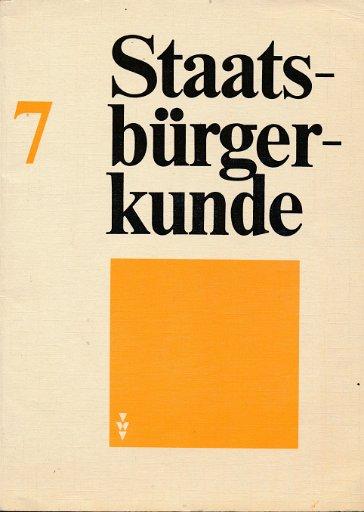 Staatsbürgerkunde Klasse 7  DDR-Lehrbuch