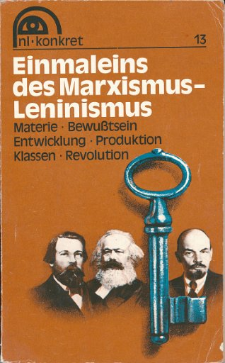 Einmaleins des Marxismus-Leninismus