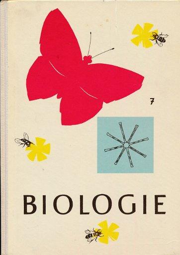 Lehrbuch der Biologie 7. Klasse  DDR-Lehrbuch