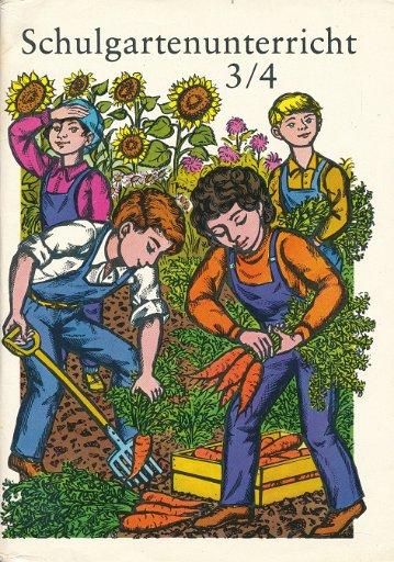 Schulgartenunterricht Klasse ¾  DDR-Lehrbuch