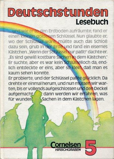 Deutschstunden Lesebuch Klasse 5  Lehrbuch