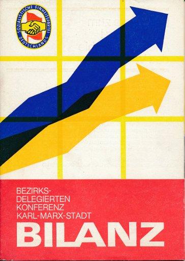 Bezirksdelegiertenkonferenz Karl-Marx-Stadt  Bilanz