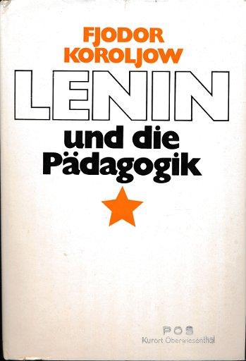 Lenin und die Pädagogik