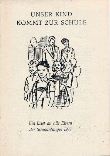 Unser Kind kommt zur Schule