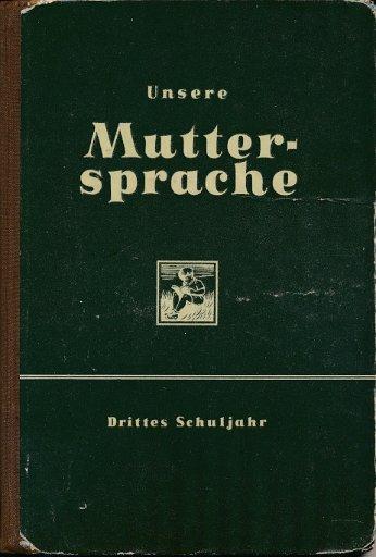 Unsere Muttersprache 3. Schuljahr  DDR-Lehrbuch