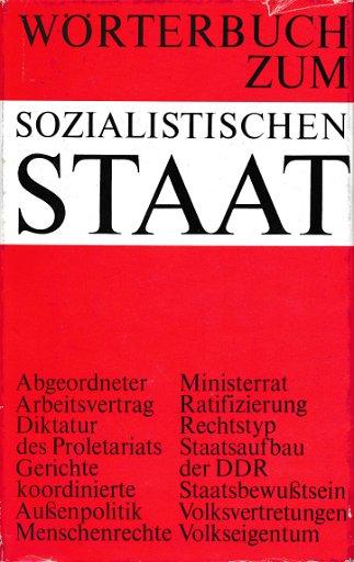 Wörterbuch zum sozialistischen Staat