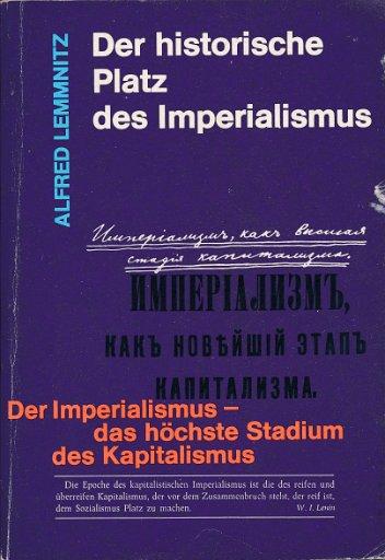 Der historische Platz des Imperialismus