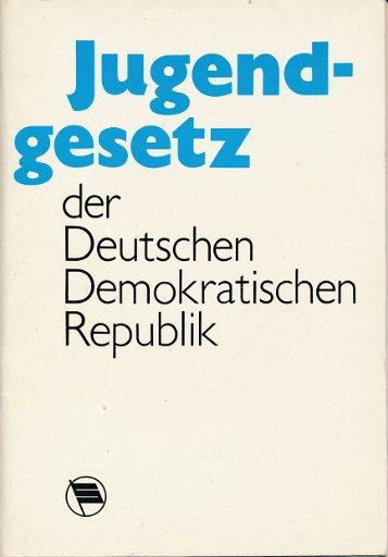 Jugendgesetz der Deutschen Demokratischen Republik