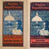 Mentor-Repetitorien Band 27(Deutscher Aufsatz II), Band 34(Deutsche Rechtschreibung), Band 35(Deutsche Grammatik)