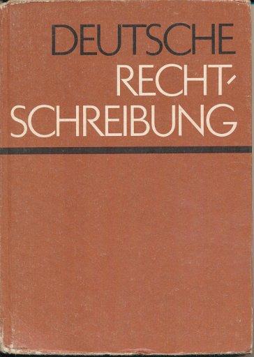 Deutsche Rechtschreibung  DDR-Lehrbuch