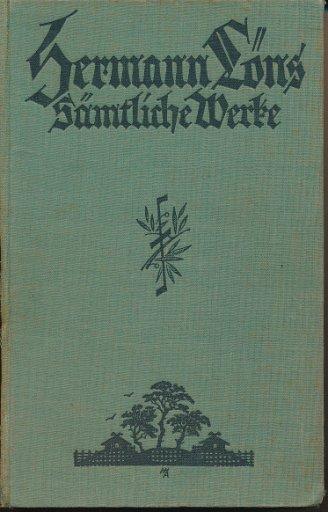 Herman Löns – Sämtliche Werke  7. Band