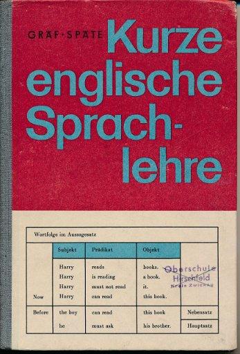 Kurze englische Sprachlehre  DDR-Lehrbuch