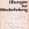 Übungen zur Wiederholung  DDR-Lehrmaterial