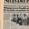 Neues Deutschland 16. 17. November 1985 Konferenz Schulpolitik Erfurt Lafontaine in Erfurt