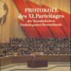 Protokoll des XI.Parteitages der SED