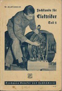 Fachkunde für Elektriker Teil 2