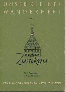 Zwickau  DDR-Wanderheft