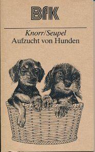 Aufzucht von Hunden  DDR-Buch