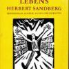 Spiegel eines Lebens – Herbert Sandberg  DDR-Buch