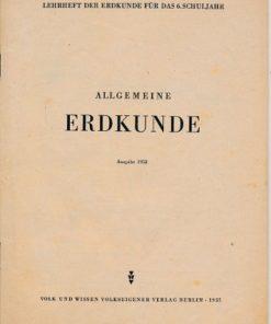 Allgemeine Erdkunde  DDR-Lehrheft