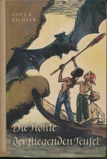 Die Höhle der fliegenden Teufel  DDR-Buch