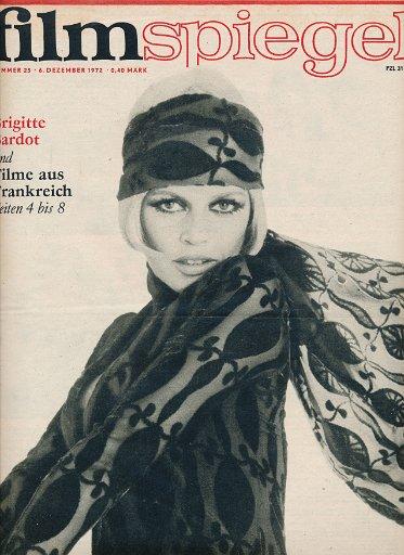 Filmspiegel Nr.25/1972  DDR-Zeitschrift