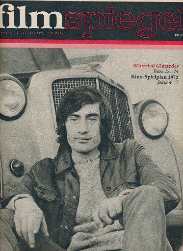 Filmspiegel Nr.3/1972  DDR-Zeitschrift
