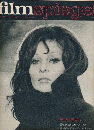 Filmspiegel Nr.4/1972  DDR-Zeitschrift