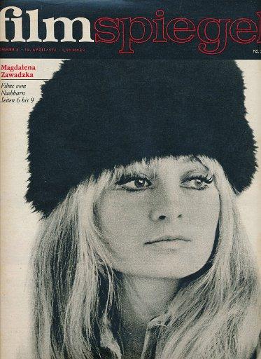 Filmspiegel Nr.8/1972  DDR-Zeitschrift