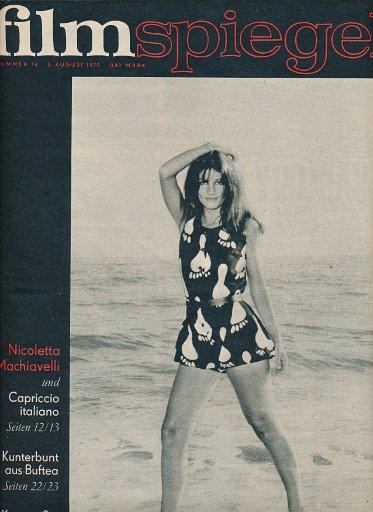 Filmspiegel Nr.16/1970  DDR-Zeitschrift