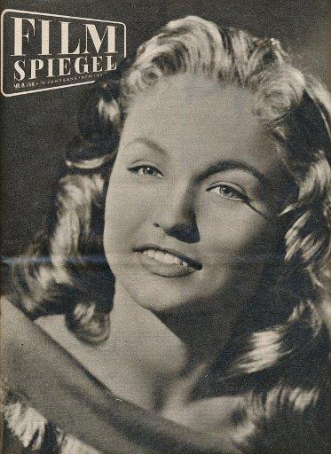 Filmspiegel Nr.8/1958  DDR-Zeitschrift
