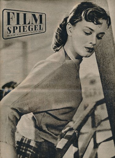 Filmspiegel Nr.6/1958  DDR-Zeitschrift