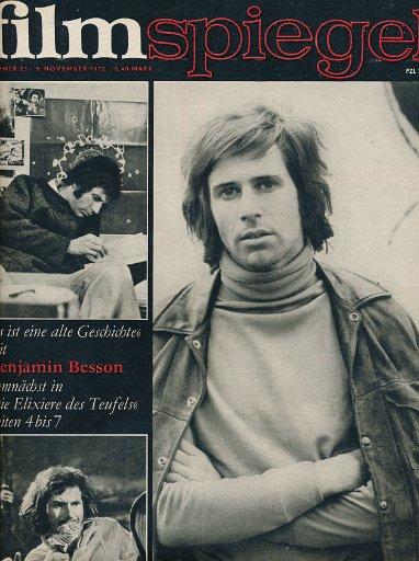 Filmspiegel Nr.23/1970  DDR-Zeitschrift