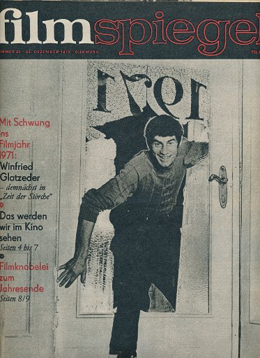 Filmspiegel Nr.25/1970  DDR-Zeitschrift