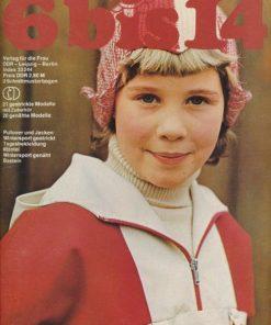 6 bis 14   II / 1978  DDR-Handarbeitszeitschrift