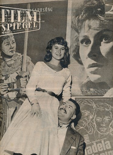 Filmspiegel Nr.16/1957  DDR-Zeitschrift