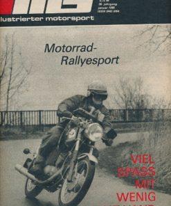 Illustrierter Motorsport 1/1986  DDR-Zeitschrift
