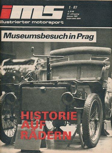 Illustrierter Motorsport 1/1987  DDR-Zeitschrift