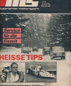 Illustrierter Motorsport 12/1986  DDR-Zeitschrift