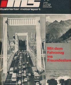 Illustrierter Motorsport 2/1987  DDR-Zeitschrift